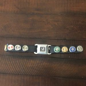 Beer Bottle Cap Seat Belt Belt